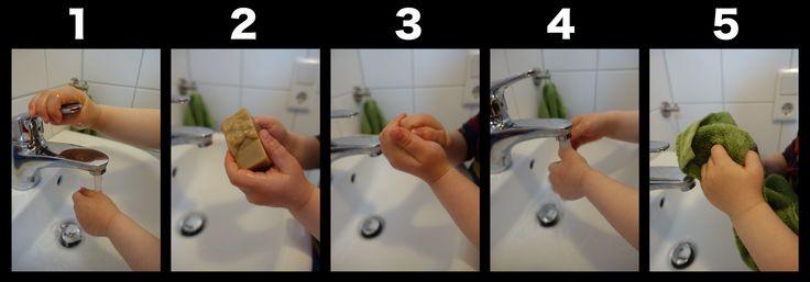 Hand washing rules