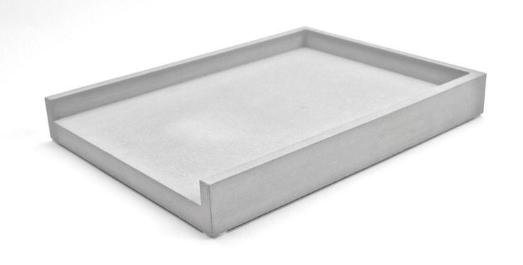 Papierablage Ablagekorb, Steinguss Betonoptik, Made in GER: Amazon.de: Bürobedarf & Schreibwaren