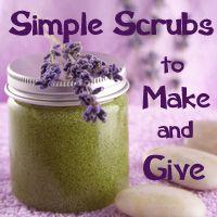 simple scrubs to make
