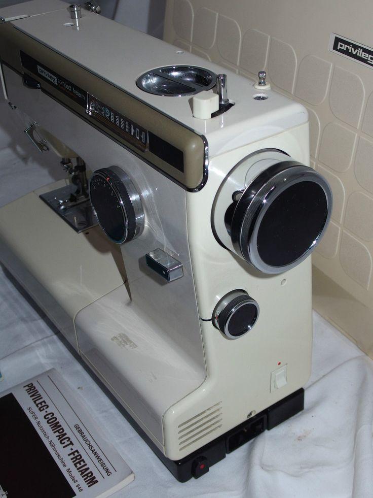 Privileg-Compact Super-Nutzstich-Nähmaschine Modell 940 /d6 | eBay   (AKA Kenmore 158.1060 or Kenmore model 1060)