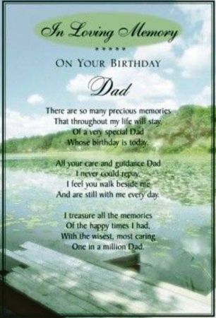 father's day card for dad in heaven