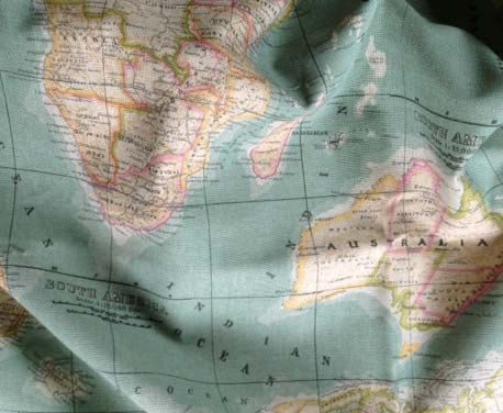 25 unique map fabric ideas on pinterest travel theme nursery fabric world map fabric 12 yard map fabric worldmap by cut4you sciox Choice Image