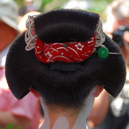 Maiko - Katsuyama Hairstyle: