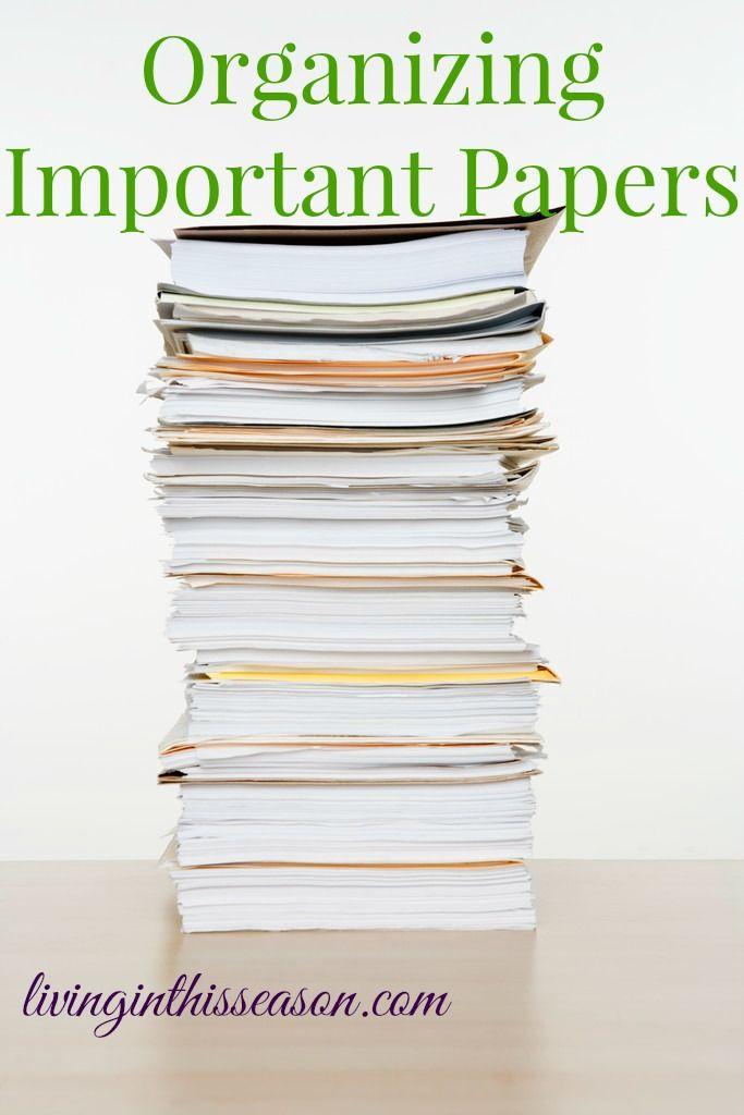 Organizing an essay paper