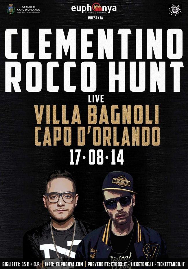 Rocco Hunt e Clementino in concerto