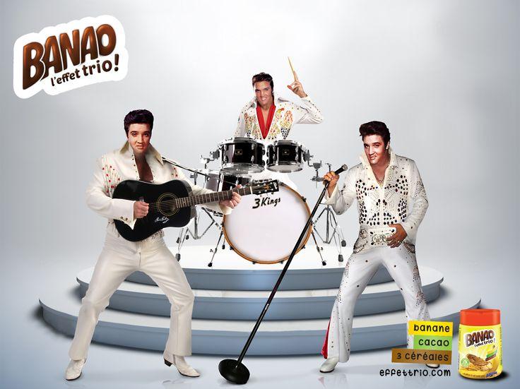BANAO Campaign - L'effet trio - Elvis