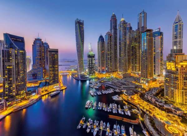 Puzzle CLEMENTONI: Puzzle de 1000 piezas Dubai ( Ref: 0000039381 ) en Puzzlemania.net