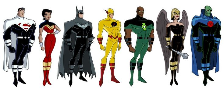 List of DC animated universe characters - Wikipedia |Justice League Unlimited Characters