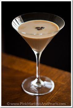 Espresso Martinis - with Vodka, Irish Cream, Kahlua, Creme de Cacao, and Frangelico