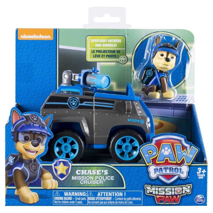 Paw Patrol Mission Paw Chase's Mission Police Cruiser-Toy Universe