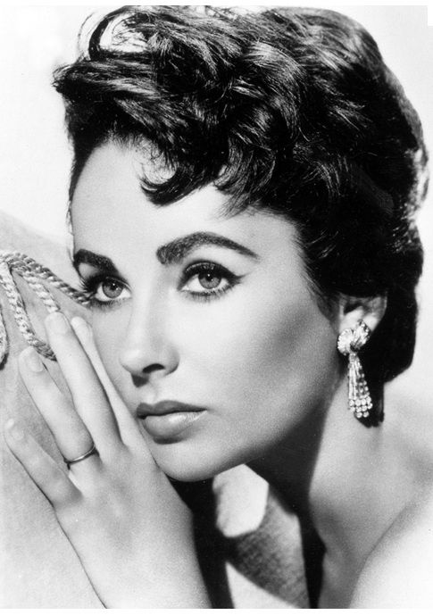 """""""Pour yourself a drink, put on some lipstick, and pull yourself together.""""- Happy Birthday Elizabeth Taylor!"""