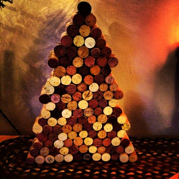 Recycling wine corks