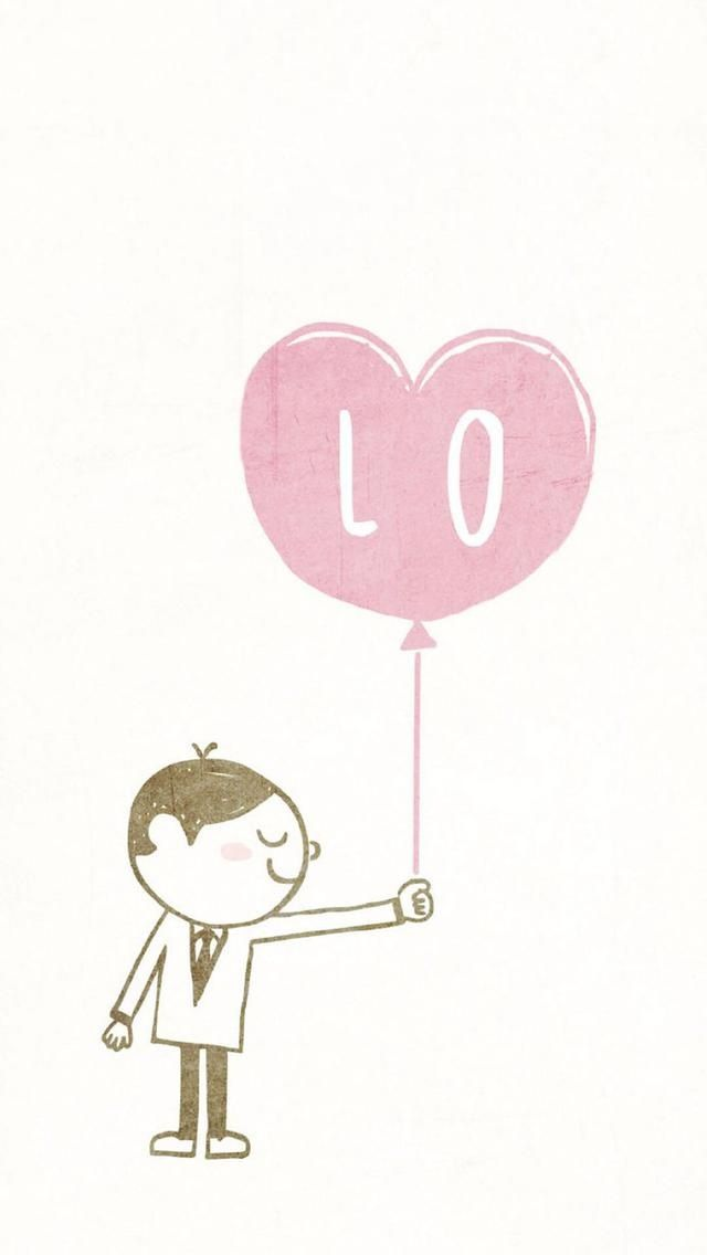 Love Balloons. Love Couple iPhone wallpapers. Tap to see more HD iPhone backgrounds. - @mobile9