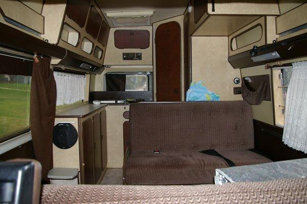 1982 VW LT28D Westfalia Sven Hedin Camper - Camper Layout