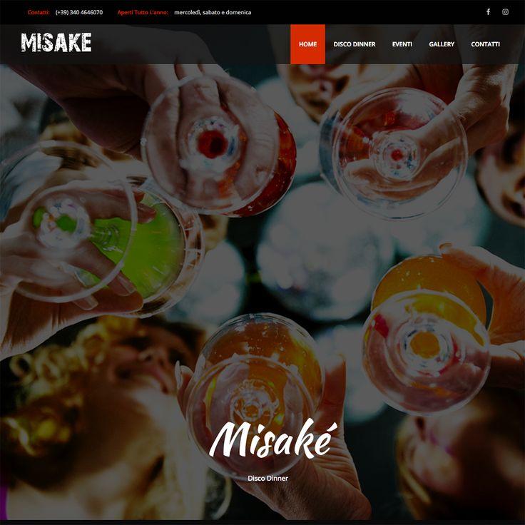 Restyling del sito web del Misakè di Cesena. Nuovo layout grafico, leggero e semplice da navigare ma... soprattutto mobile friendly.  http://www.misake.it/
