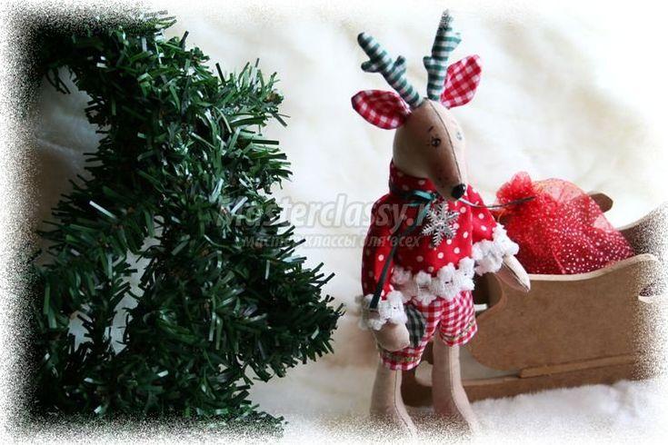 Тильда олень – Рождество
