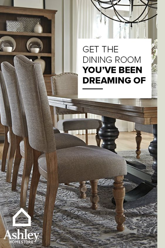 Get that dining room you ve been dreaming of with pieces from Ashley  HomeStore. 265 best On Trend D cor images on Pinterest   Furniture ideas