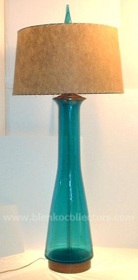Blenko lamps