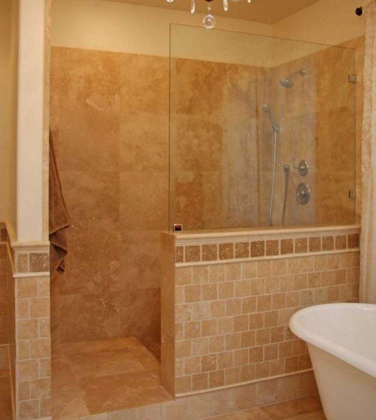 Walk In Shower Ideas Without Doors modern bathroom design ideas with walk in shower Master Showers Without Doors Walk In Ideas For Inspiration Walk In