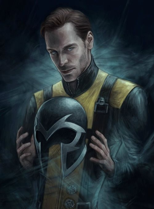 There's been a lot of talk 'bout the potential of solos from the X-Men franchise being made. When asked if a Magneto spinoff's a possibility, Michael Fassbender seems confident there will be one. Hugh Jackman mentions an existing script to Fassbender, but the latter says it's from before First Class. It's likely the script for X-Men Origins: Magneto, which got scrapped. Magneto, by Jasric.
