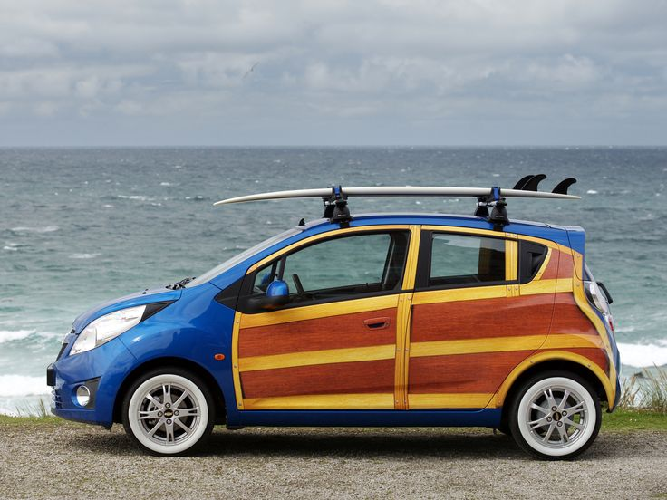 Chevy Spark Woody - aaah! the cuteness!! www.dreamtime-visual.com