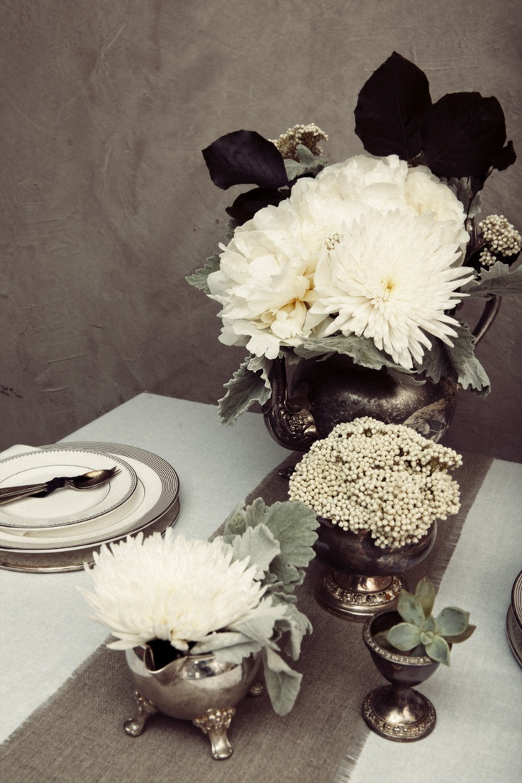 Gold Turkey Centerpiece : Best images about thanksgiving table black white