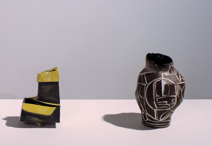 Vases inspired by my surrounds in Guldaggeraard