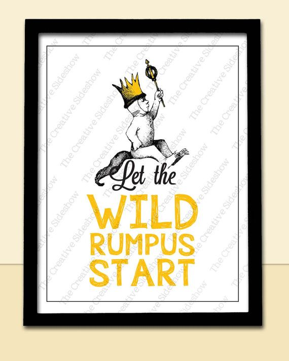Hey, I found this really awesome Etsy listing at https://www.etsy.com/listing/177793645/where-the-wild-things-are-let-the-wild