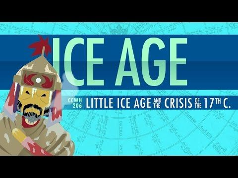 Crash course - climate change - history of climate change, the fact that it's happened before rather than who is responsible now.