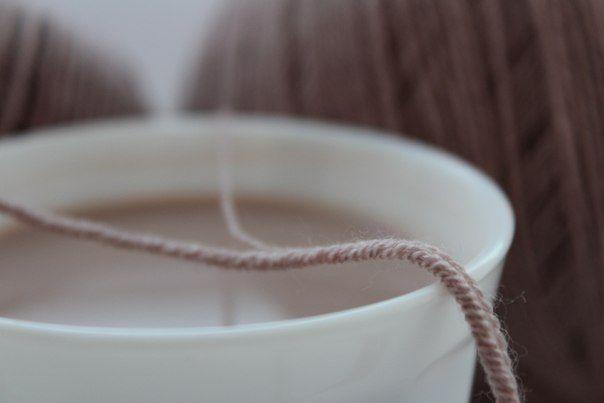 """Пряжа, сеам, кофе с молоком, дизайн, интерьер Нереально красивый оттенок """"какао с молоком"""" Мерино силк и Шампань №088"""