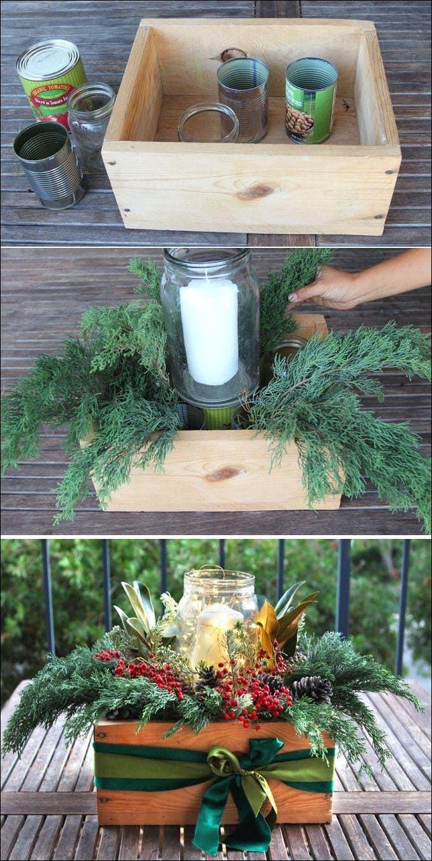 Wie man ein schönes und kostenloses DIY Weihnachtsessen in 10