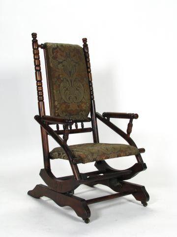 antique spring rocking chair 388: Antique Platform Rocking Chair on in 2018 | Rock a bye  antique spring rocking chair