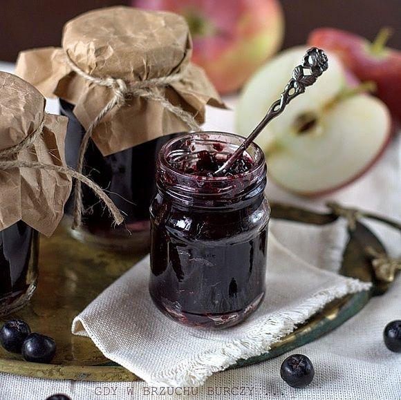 Dżem aroniowo - jabłkowy