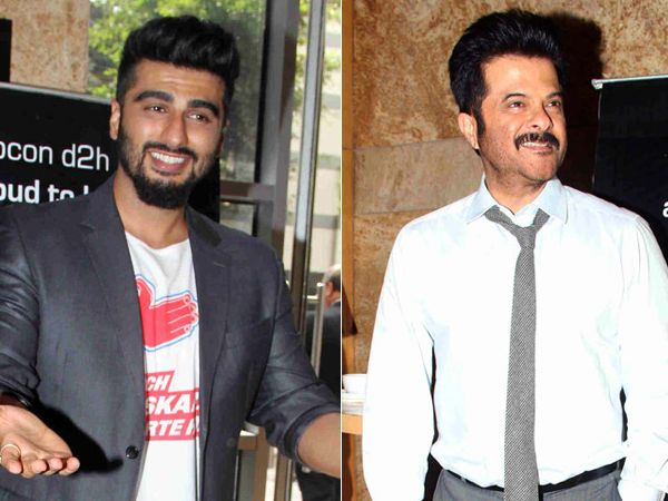 When Anil Kapoor dug into nephew Arjun Kapoor's rajma chawal and chicken!