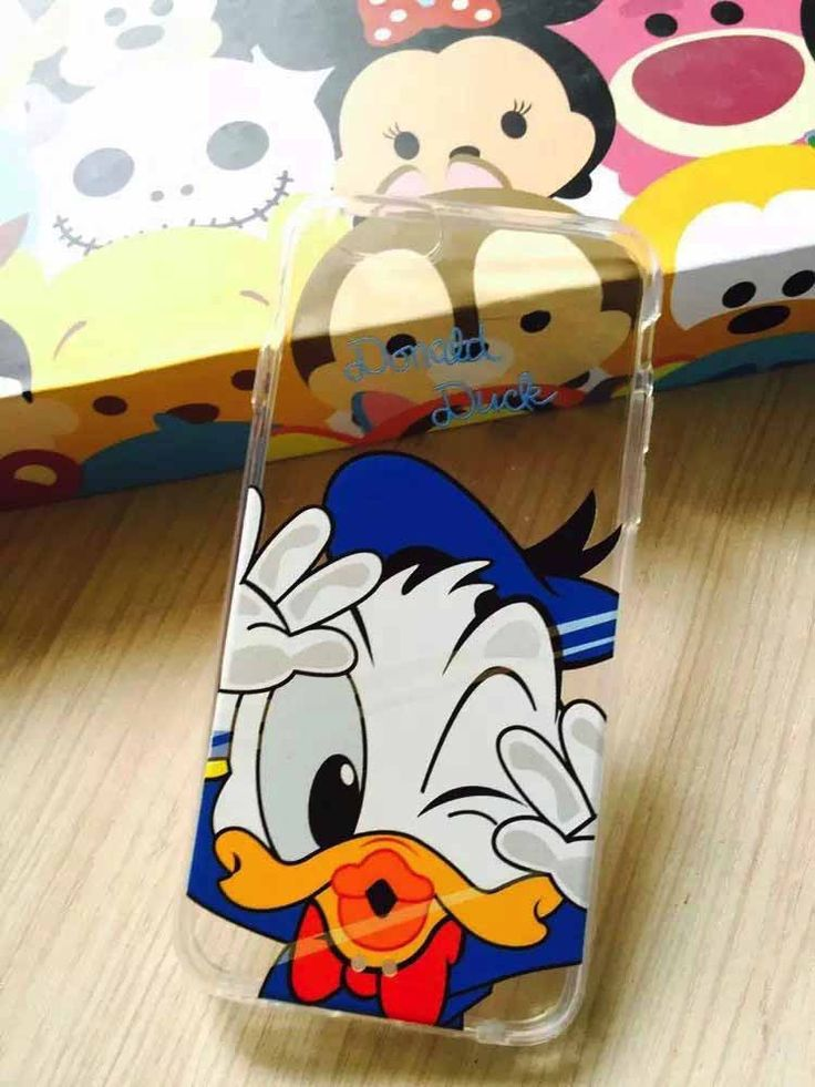 Funny Minnie Mickey Soft Back Case Cover For Apple iPhone 6 4.7 inch