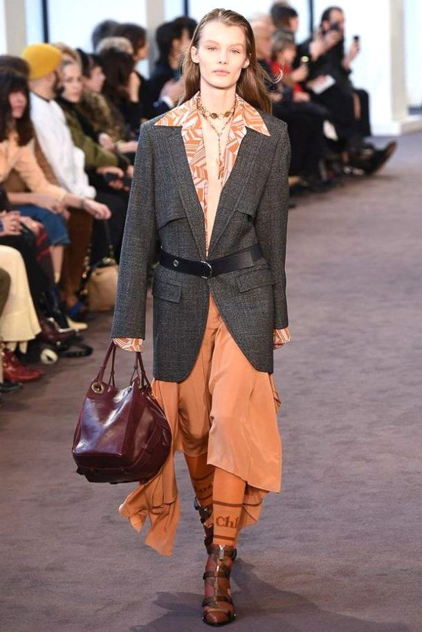 acf5132522 Collection CHLOÉ Winter 2019 - PARIS*** | Casual | Fashion, Chloe ...