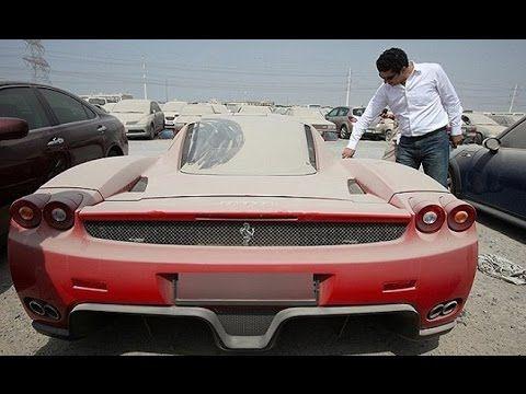 Top 10 coches de lujo abandonados en Dubai   MasQmotor