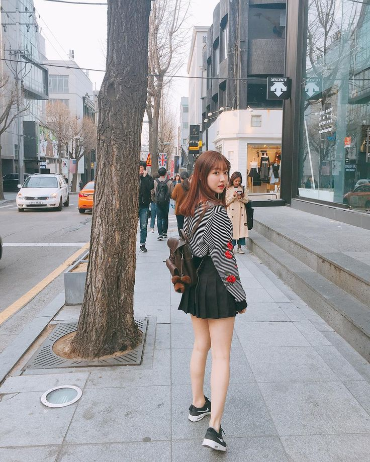 """18.7k Likes, 100 Comments - ☀Sunny☀써니(Official) (@sunnydahye) on Instagram: """"Strolled around Garosugil with my new leather back pack from @grafeakorea ❤ photo by: Le bf"""""""