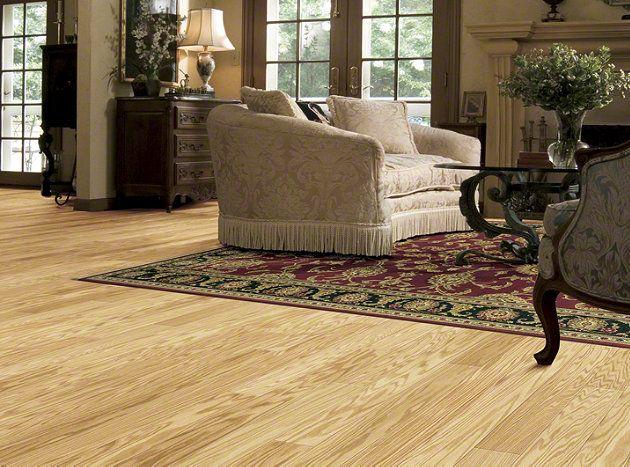 Hardwood Symphonic 5 Sw120 Red Oak Natural Flooring By Shaw Home Livingroom Ideas