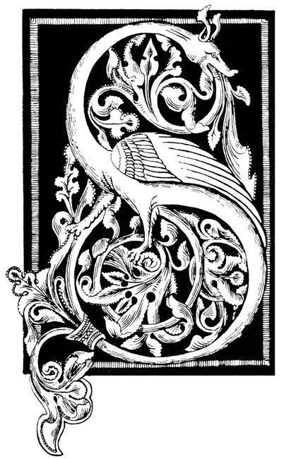 42 best medieval lettering images on pinterest illuminated letters illuminated manuscript and. Black Bedroom Furniture Sets. Home Design Ideas