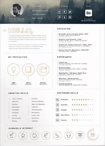 102 best 20 cvtheque images on Pinterest Graphics, Commercial - latex template resume