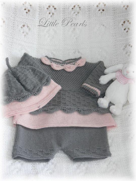 www.annastricken.at fuer Baby handarbeiten | Reborn - Babypuppen - Little Pearls - Handarbeiten - 0996