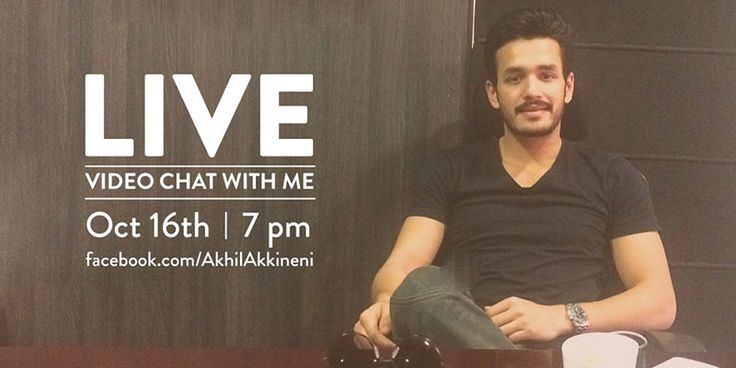 #‎Akhil‬ - Live video Chat Facebook and Q&A on Twitter