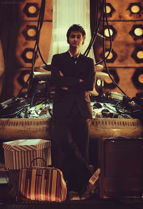 ~ I want the doctor to be waiting for me like this when I get to the TARDIS...
