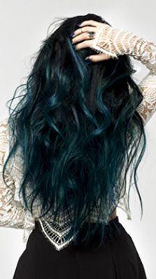 coloration semi permanente loral turquoise hair pe 2017 - Coloration Permanente Bleu