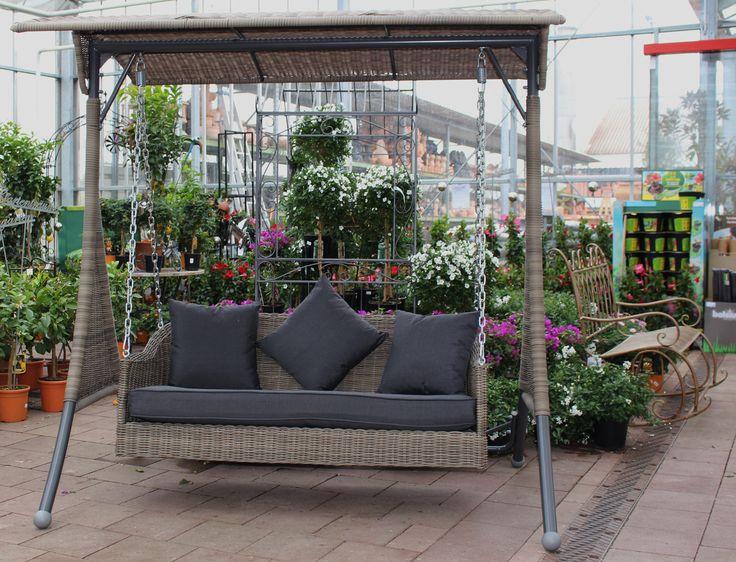 Schaukelbank Ombre Hollywoodschaukel Gartenbank Outdoorbank Outdoormöbel