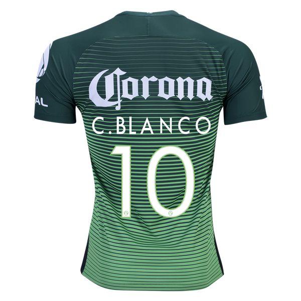 Nike Cuauhtemoc Blanco Club America Authentic Third Jersey 2017