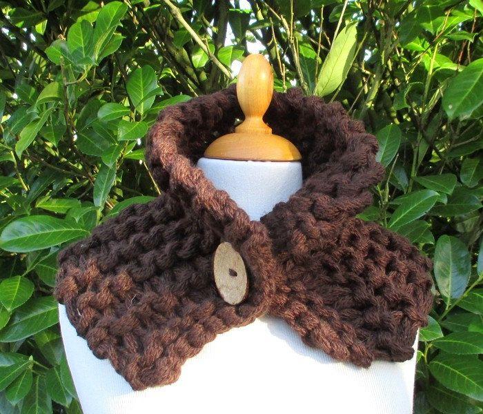 Kit à tricoter Col boutonné - OFFRE SPECIALE de la boutique Sylviecambet sur Etsy
