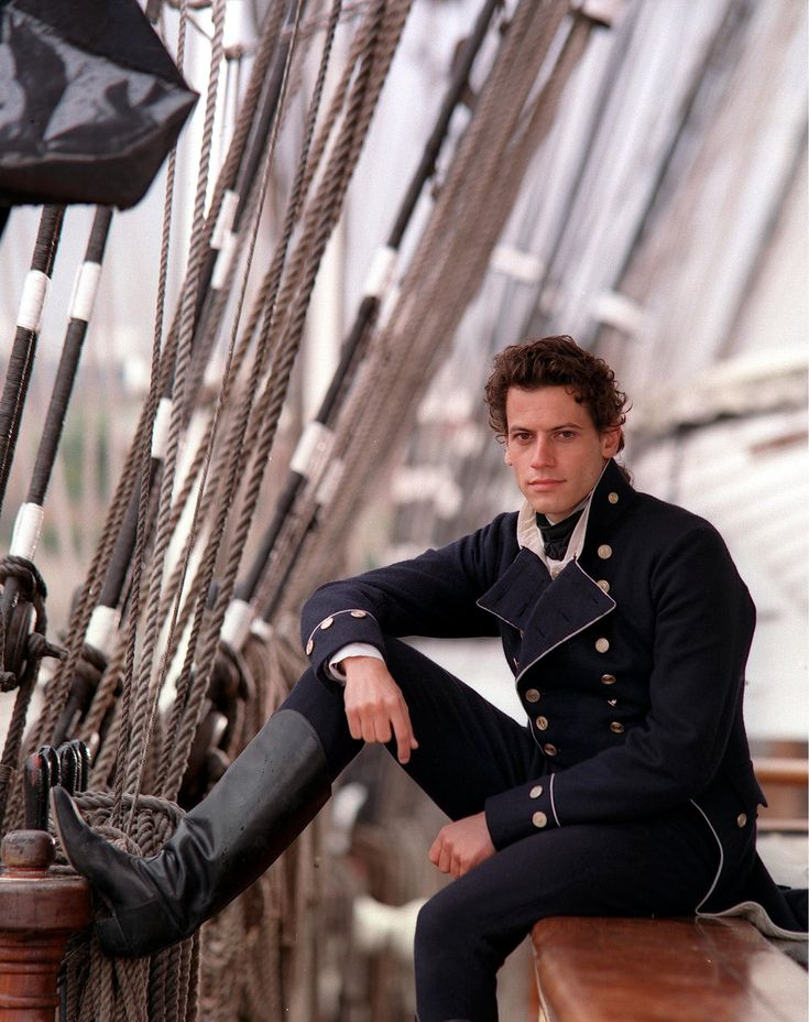 Ioan Gruffudd as Horatio Hornblower in the British historical miniseries by that name.