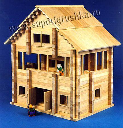 Children's wooden house designer Teremok2-